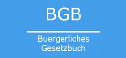 BGB: Bürgerliches Gesetzbuch
